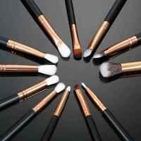 Pro 12pcs/Set Makeup Cosmetic Eyeshadow Powder Foundation Eye Brushes Set