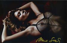 photo tirage 20x30 cm - Léa Seydoux by Mario Sorrenti signed 2013 Lui magazine