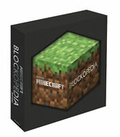 Minecraft Blockopedia An Official Minecraft Book from Mojang [HB] NEW