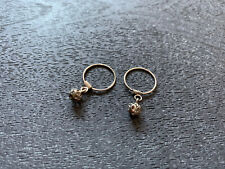 Nose/Nostrol Rings, Nath Jewelry Never Worn Pair Of Silver