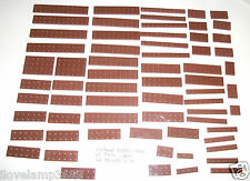 LEGO Reddish Brown Plate 2x10 2x12 2x8 2x6 1x8 2x4 2x3 1x3 1x4 2x2 1x6 4 10236