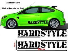 Hardstyle Musik Streifen Tuning Aufkleber Sticker Hater Geil Old JDM komplett