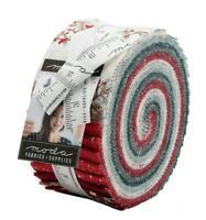 JUNIPER Jelly Roll MODA Quilting Fabric Kate Birdie Christmas sewing 13200JR