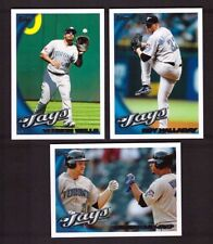 2010 Topps TORONTO BLUE JAYS Team Set 1 & 2 Updates 32 cards Mint