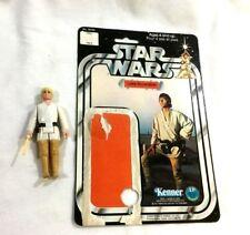 1978 Star Wars Luke Skywalker Farmboy Figure Complete 12 Cardback Canada RARE