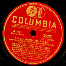 BENNY GOODMAN ORCH. & MILDRED BAILEY -VOCAL- Peace, Brother!/ Darn, that.. X3376