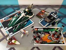 LEGO STAR WARS : LOTTO DI SET E MEZZI VARI, IN PARTE CON ISTRUZIONI - LOTTO 6
