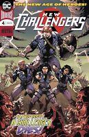 New Challengers #4 DC Comic 1st print 2018 unread NM