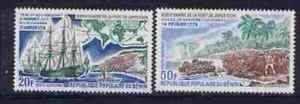 Benin C288-9 MNH Captain Cook, Ships, Battle of Kowrowa