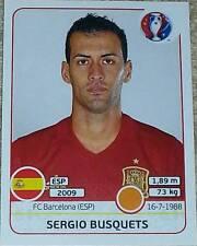 Match Attax 19//20 Sergio Busquets Espagne signé dédicacé