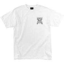 Creature Skateboards Offerings SS Men's White T-Shirt - FREE SHIPPING!
