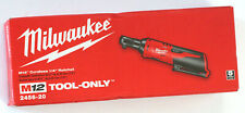 "Milwaukee 12V M12 Cordless 1/4"" Ratchet 2456-20"