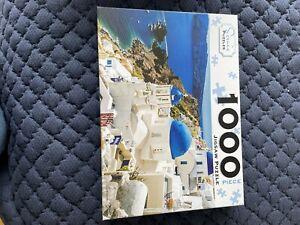 1000 Piece Jigsaw Santorini