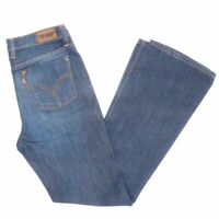 Levi's Levis Jeans 629 W31 L32 blau stonewashed 31/32 Bootcut -JA9704