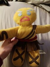 "Shrek Forever After GINGY Warrior Gingerbread Man 10"" Plush Nanco 2010 Stuffed"