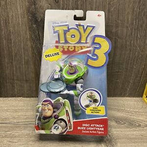 Toy Story 3 Buzz Lightyear Disc Attack Deluxe Action Figure Rare New
