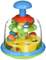 Spinning Popping Pals Baby Spinning Balls Learning Activity Top Toy New
