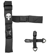 2 Point Adjustable Tactical Punisher Rifle Sling w/ Attachments