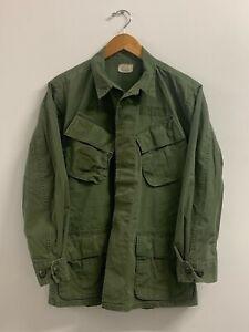 Jungle Fatigue Shirt 1969's / Rip-Stop, Size Medium / Short, US Army, Q-22