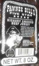 Pawnee Bill Hickory Smoked Beef Jerky 8 oz Package FREE SHIPPING