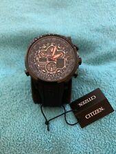 Citizen JY8035-04E Eco Drive Navihawk A-T Wrist Watch for Men MINT