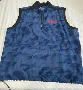 Adidas golf Team USA vest Size XXL