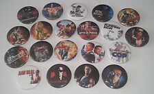 20 Arnold Schwarzenegger Badges Total Recall Predator The Terminator Red Sonja