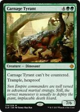 Carnage Tyrant NM Ixalan MTG Magic The Gathering Green English Card