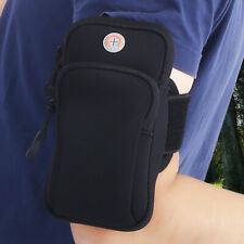 Arm Band Bag Wrist Pouch Holder Armband Phone Case Sport Running Jogging Gym New
