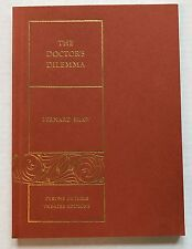 The Doctor's Dilemma Play By Bernard Shaw 1966 Tyrone Guthrie Theatre Edition PB