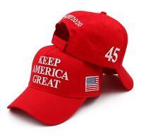 Keep America Great 45 Baseball Cap Hat President Trump 2020 Republican KAG MAGA