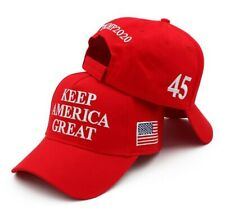 Keep America Great 45 Baseball Cap Hat President Trump 2020 Republican KAG MAGA