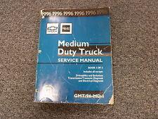 1996 Chevy Kodiak MD Truck Shop Service Repair Manual Vol I Only 7.2L 7.4L 8.1L