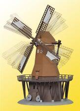 Kibri 37302 escala N molino de viento con motor conjunto edificios #