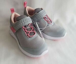 All in Motion Jet Grey Girls Sneakers - Youth Size 13 - NEW