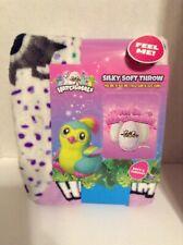 Hatchimals Silky Soft Throw 40 X 50 Pink & Purple