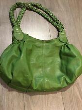 LK Bennett Green Soft Leather Handbag