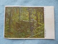 WWII US Marines Captured Japanese Army Post Card Army Souvenir WW2