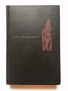 Crime and Punishment by Fedor Dostoevsky 1947 Living Library Illus. Ruth Gikow
