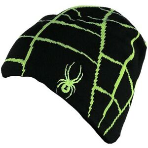SPYDER Boys MINI WEB HAT Kid CHILDRENS Winter SNOW BOARD Sport SKI BEANIE Spider