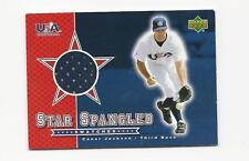 Conor Jackson 2002 Upper Deck Star Spangled USA Jersey Card # SS-CJ