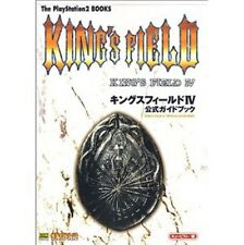 King's Field 4 Official Guide Book / PS2