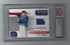 Jim Thome 2002 Donruss Big League Challenge Material Graded Untouched Card, # 22