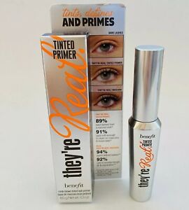 Benefit Lash Primer They're Real Tinted Mink Brown New in Box ⭐️