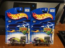 2002 Hot Wheels First Editions Lot of Two I Candy #47 Window Color Variations