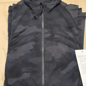 NWT auth lululemon define jacket in Heritage Camo size 12 in wrapper!