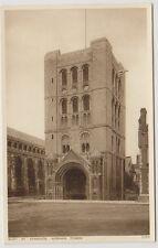 Suffolk postcard - Bury St Edmunds, Norman Tower