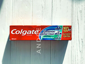 Colgate Triple Action Complex Toothpaste Natural Mint 50 ml 100ml 200 ml Family