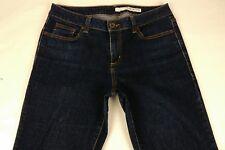 DKNY Boot Cut Dark Wash Denim Jeans Women Size 12 Stretchy Cotton Blue