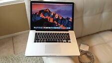 Apple Macbook Pro 15 intel i5 2.4ghz,4gb,500gb,Latest 2016 OS Sierra,Office